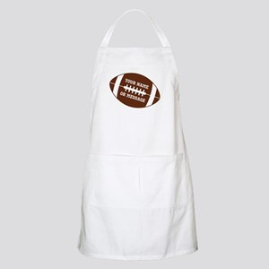 YOUR NAME Football Apron