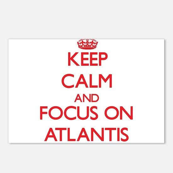 Cute Atlantis Postcards (Package of 8)