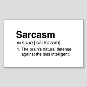 Sarcasm Definition Sticker