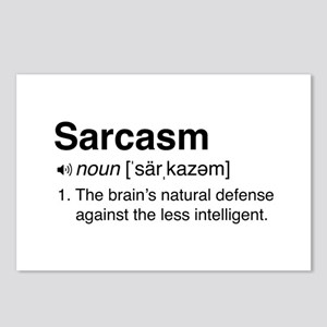 Sarcasm Definition Postcards (Package of 8)