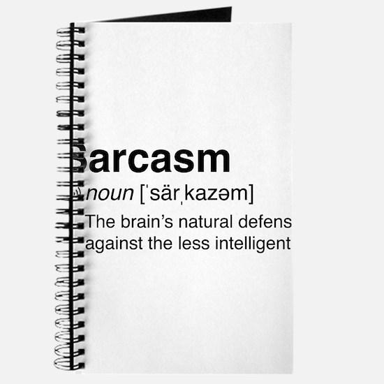 Sarcasm Definition Journal