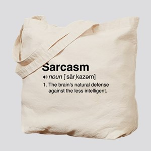 Sarcasm Definition Tote Bag
