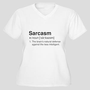 Sarcasm Definition Plus Size T-Shirt