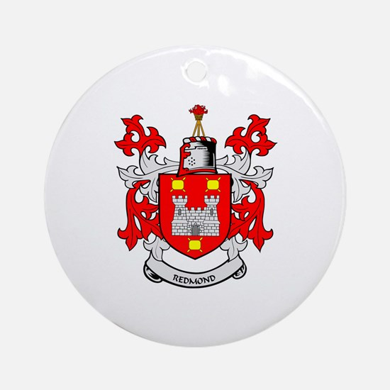 REDMOND Coat of Arms Ornament (Round)