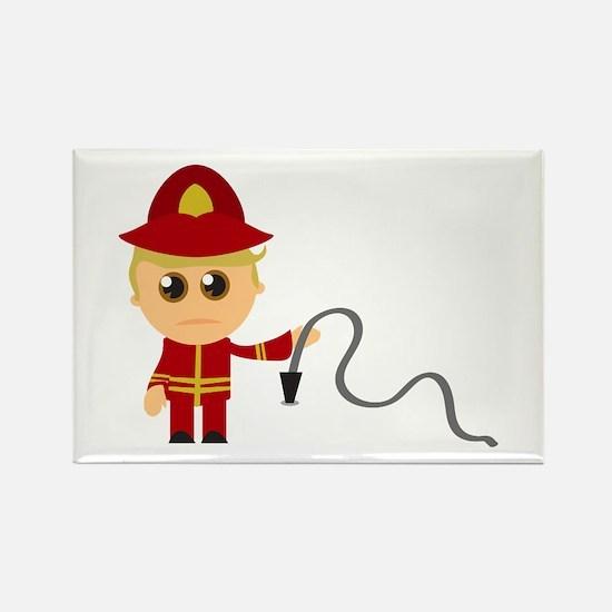 Little Fireman Magnets
