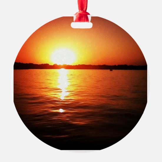 Minnetonka Sunset Ornament