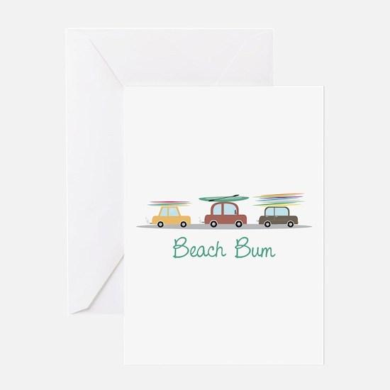 Beach Bum Greeting Cards