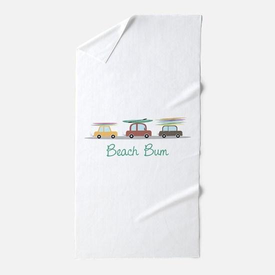 Beach Bum Beach Towel