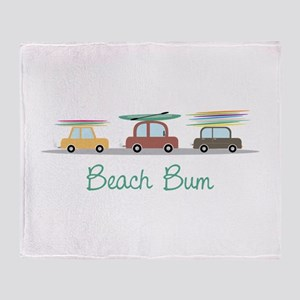 Beach Bum Throw Blanket