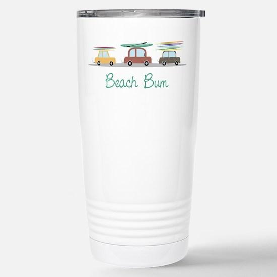 Beach Bum Travel Mug