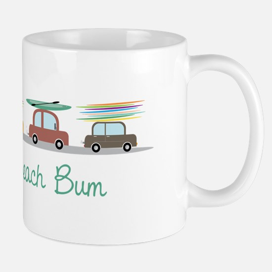 Beach Bum Mugs