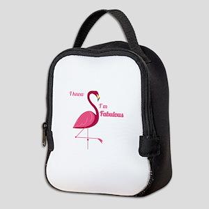 Im Fabulous Neoprene Lunch Bag