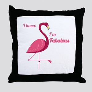 Im Fabulous Throw Pillow