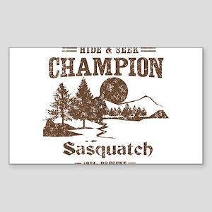 Hide & Seek Champion Sasquatch Sticker