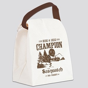 Hide & Seek Champion Sasquatch Canvas Lunch Bag