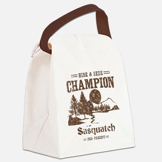 Hide & Seek Champion Sasquatch Canvas Lunch Bag