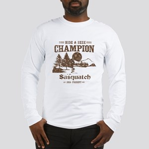 Hide & Seek Champion Sasquatch Long Sleeve T-Shirt