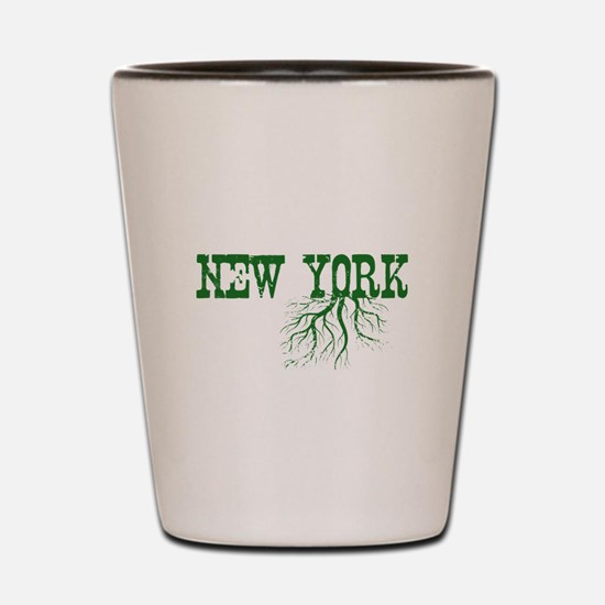 New York Roots Shot Glass