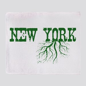New York Roots Throw Blanket