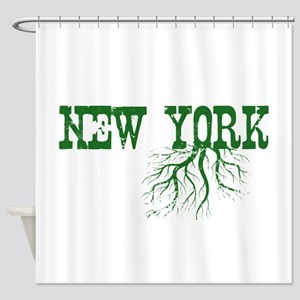 New York Roots Shower Curtain