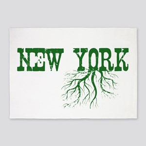 New York Roots 5'x7'Area Rug