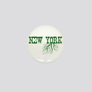 New York Roots Mini Button