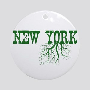 New York Roots Ornament (Round)