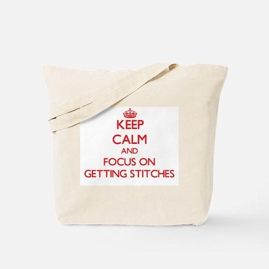 Cute Snitches get stitches Tote Bag