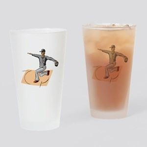 Baseball Umpire Safe Drinking Glass
