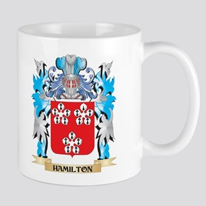 Hamilton Coat of Arms - Family Crest Mugs