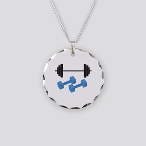 Weight Lifting Necklace