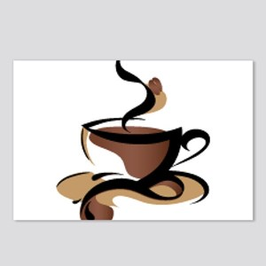 Coffee Time Postcards (Package of 8)