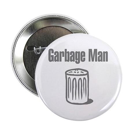 """Garbage Man 2.25"""" Button (100 pack)"""
