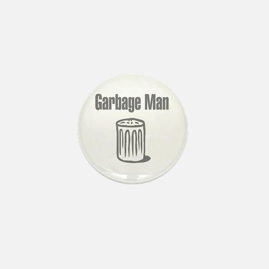 Garbage Man Mini Button