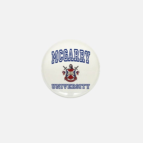 MCGARRY University Mini Button