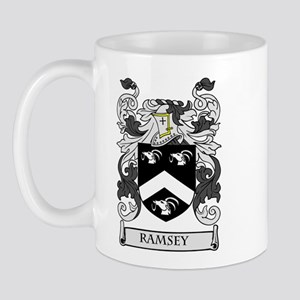 RAMSEY Coat of Arms Mug