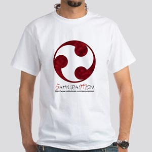 mon 7 red w banner T-Shirt