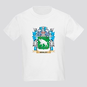 Hanley Coat of Arms - Family Crest T-Shirt