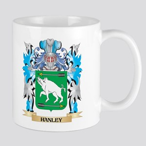 Hanley Coat of Arms - Family Crest Mugs