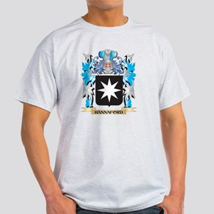 Hannaford Coat of Arms - Family Crest T-Shirt