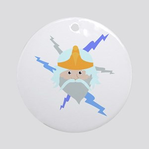 Thunder Ornament (Round)