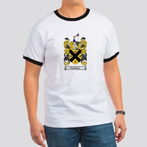 PURCELL Coat of Arms Ringer T