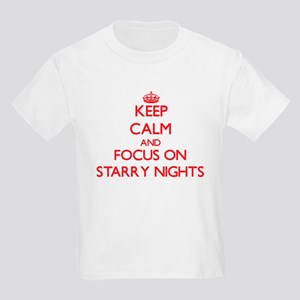 Keep Calm and focus on Starry Nights T-Shirt
