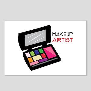 Makeup Artist Postcards (Package of 8)