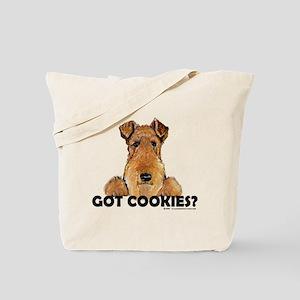 Welsh Terrier Cookies Tote Bag