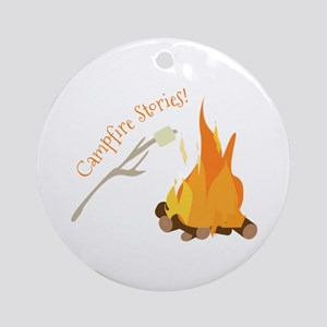 Campfire Stories! Ornament (Round)