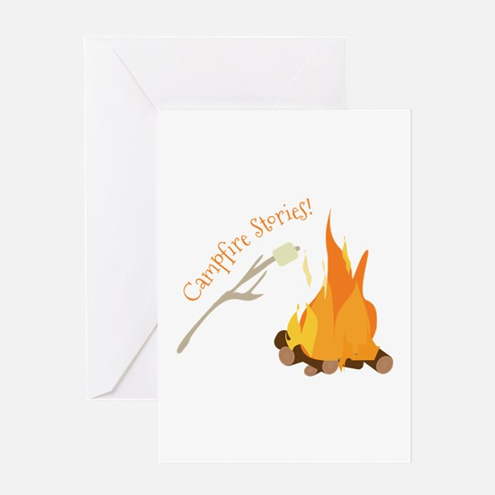 Campfire Stories! Greeting Cards