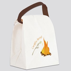 Campfire Stories! Canvas Lunch Bag