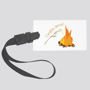 Campfire Stories! Luggage Tag
