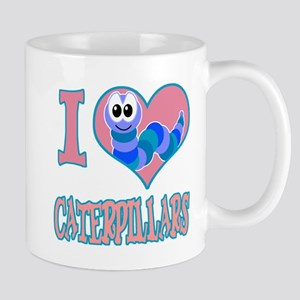 I Love (Heart) Caterpillars Mug